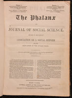 The Phalanx, or, Journal of social science
