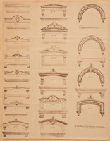 Architecture : designs for street fronts, suburban houses, and cottages, including details, for both exterior and interior ... : comprising in all 382 designs and 714 illustrations ;